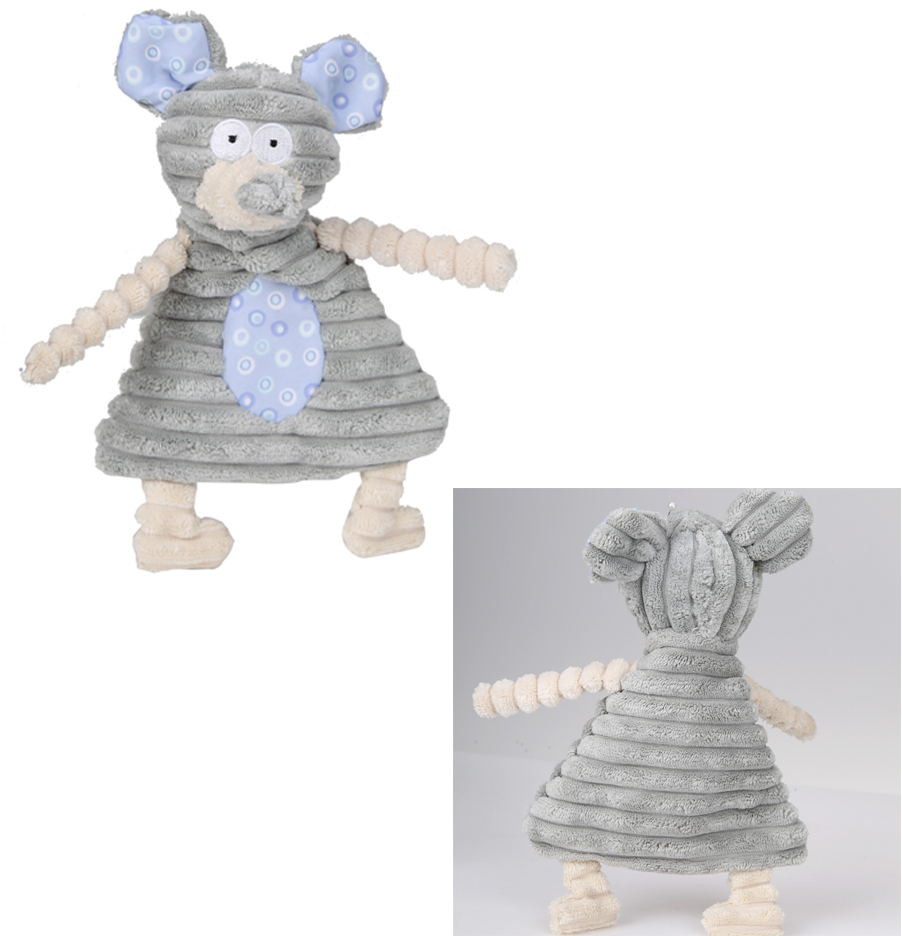 Plush Squeaker mouse