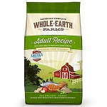 Whole Earth Farms Adult Recipe by Merrick .   Pea and Flaxseed oil free 25# bag