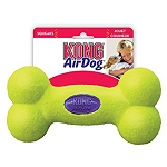 Kong AirDog Squeaker Bone floatable dog toy Small