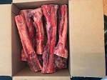 Raw Elk and Deer Bones.  Medium and Large Cut Available