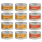 Merrick Classic Recipe Canned Dog Food Variety Pack - Thanksgiving Dinner, Grammy's Pot Pie, and Cowboy Cookout (12 Total)