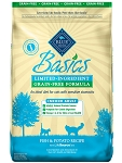 Blue Buffalo Basics Limited Ingredient Grain-Free Formula Fish & Potato Indoor Adult Dry Cat Food 5 lb. bag