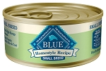 Blue Buffalo Homestyle Recipe Small Breed Lamb Dinner Canned Dog Food, 5.5-oz, case of 12