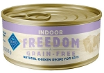 Blue Buffalo Freedom Indoor Adult Chicken Recipe Grain-Free Canned Cat Food