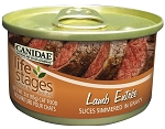 CANIDAE Life Stages Lamb Entree with Slices Simmered in Gravy Canned Cat Food, 3-oz, case of 12