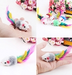 Cat Fleece Mouse Toy