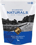 Diamond Naturals Adult Biscuits with Beef Meal Dog Treats