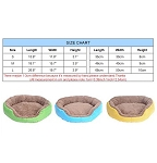 Candy Color Warm Cozy Dog Bed