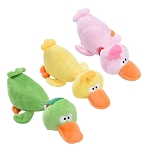 Plush Duck Squeaker Toys