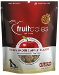 Fruitables Crispy Bacon & Apple Flavor Crunchy Dog Treats, 7-oz bag