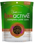 Fruitables BioActive Complete Joint Care Soft Chews Dog Treats, 6-oz bag