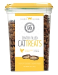 Paws IQ Chicken Flavored Center Filled Cat Treats