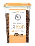Paws IQ Salmon Flavored Center Filled Cat Treats