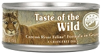 Taste of the Wild Canyon River Grain-Free Canned Cat Food
