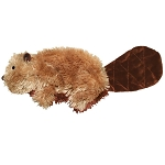 Kong plush beaver small toy