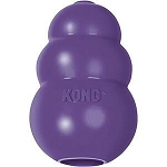 Kong Senior treat toy.  For dogs up to 20 lbs.  Re-establishes play.  Also available for puppies