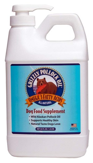Grizzly Pollock Fish Oil for Dogs