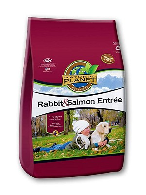 Natural Planet Rabbit & Salmon Entree Grain-Free Dry Dog Food (COPY)