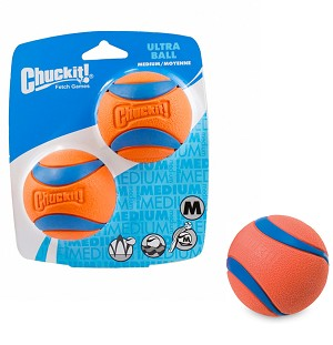 Chuckit Balls - 2 pack Ultra Medium