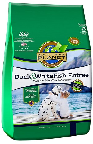 Natural Planet Duck & Whitefish Entree Grain-Free Dry Dog Food