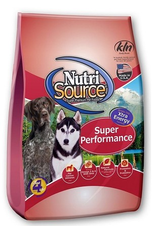 NutriSource Super Performance Chicken and Rice Dry Dog Food 40 POUND BAG