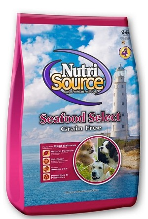 NutriSource Grain-Free Seafood Select Formula Dry Dog Food
