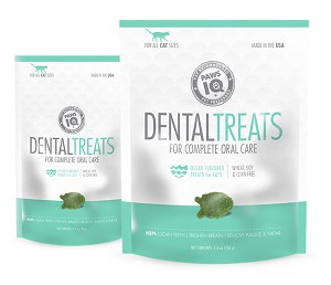 Paws IQ Ocean Flavored Dental Cat Treats