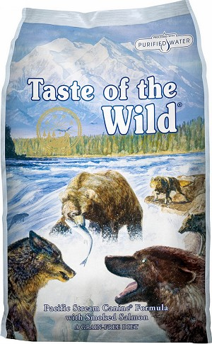 Taste of the Wild Pacific Stream Grain-Free Dry Dog Food