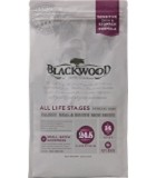 Blackwood Salmon Meal and Brown Rice dry dog food no peas of flaxseed 30#